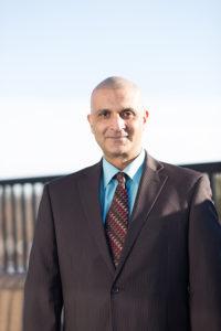 Portrait photograph of Dr. Chaudhry